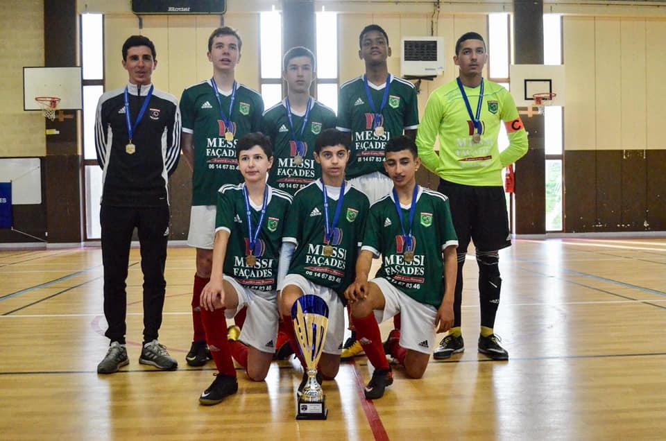 Les U15 Champions à la Finale Régionale Futsal 🏆
