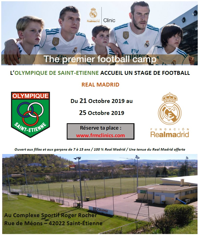 Inscriptions – Stage Real de Madrid 2019