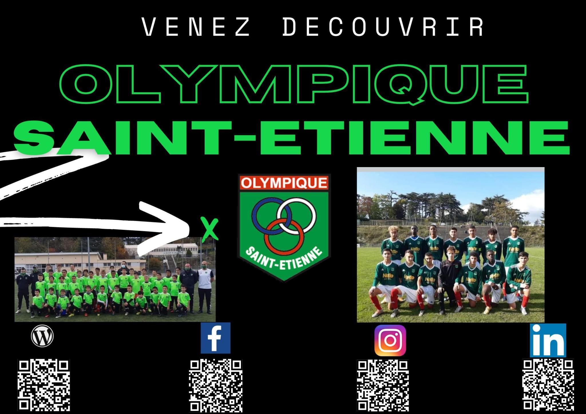 Découvrez l'Olympique Saint-Etienne